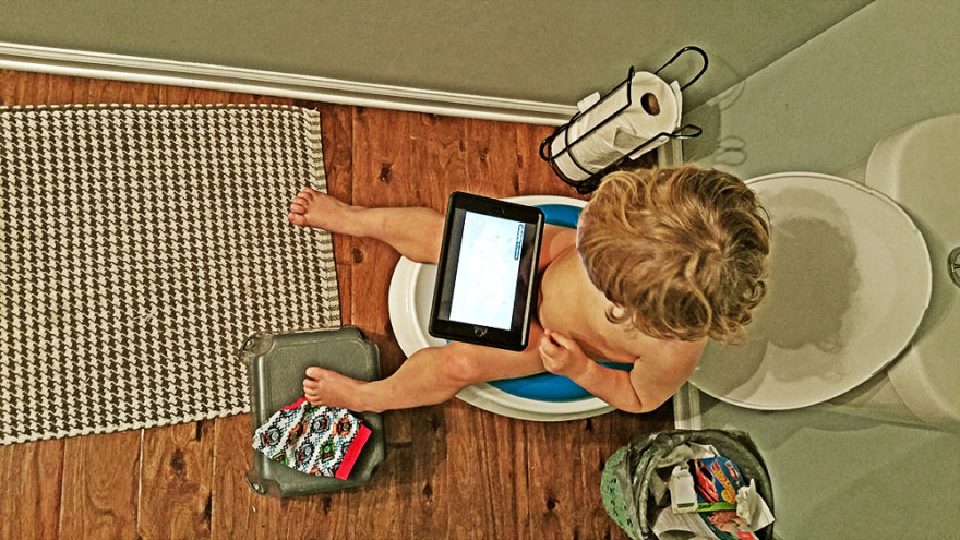 Dad Blog - Potty Training
