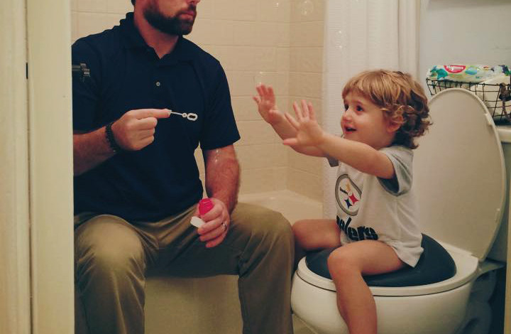 potty training for dads